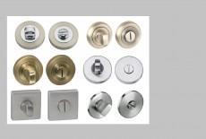 Escutheons, wc keys